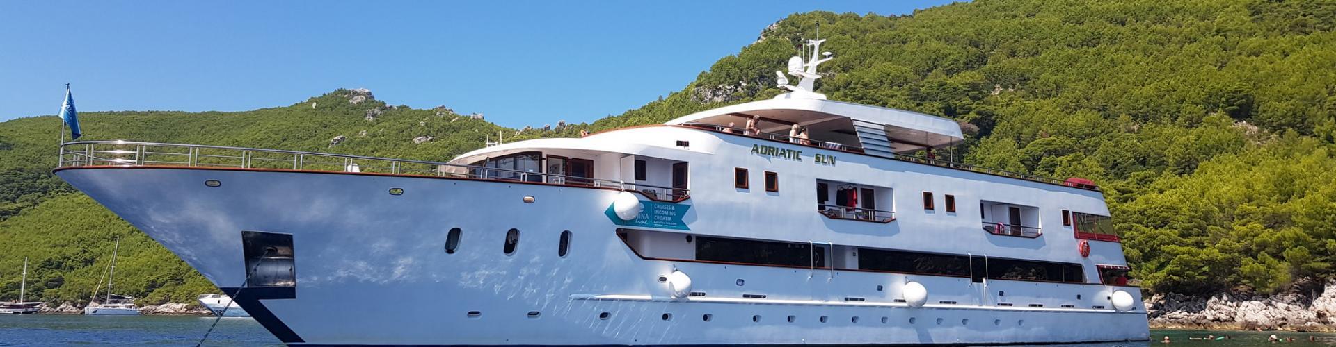 Deluxe Superior nave da crociera MV Adriatic Sun- yacht a motore