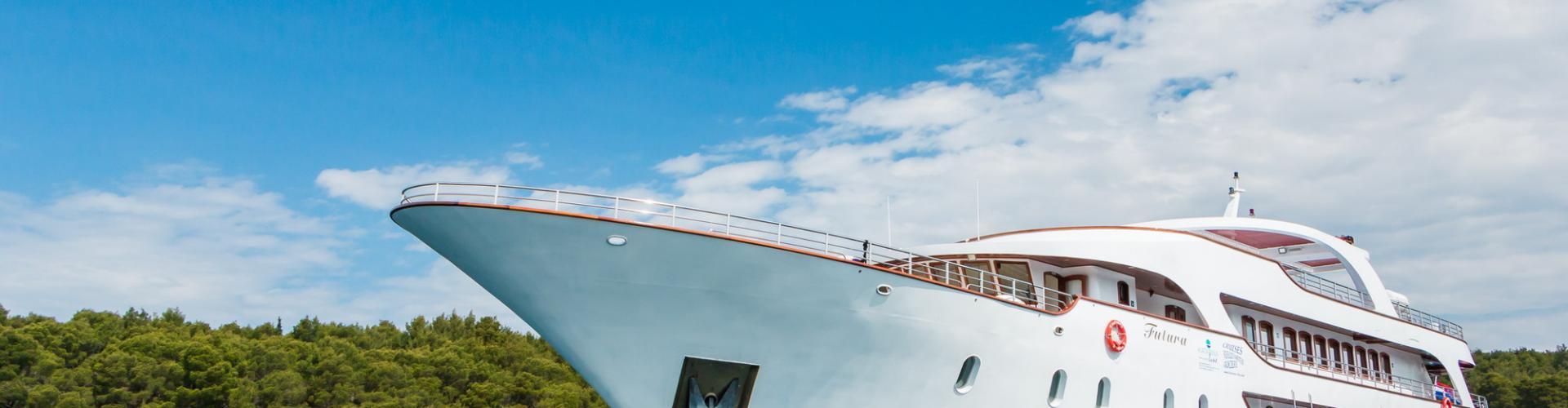 Deluxe Superior nave da crociera MV Futura- yacht a motore