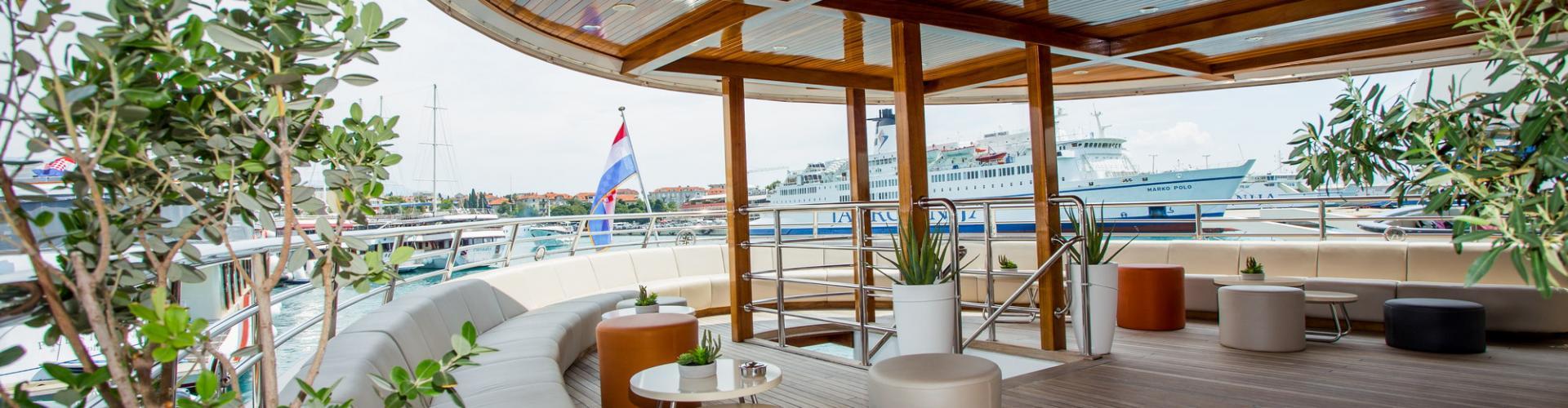 barca a motore Deluxe Superior nave da crociera MV Futura