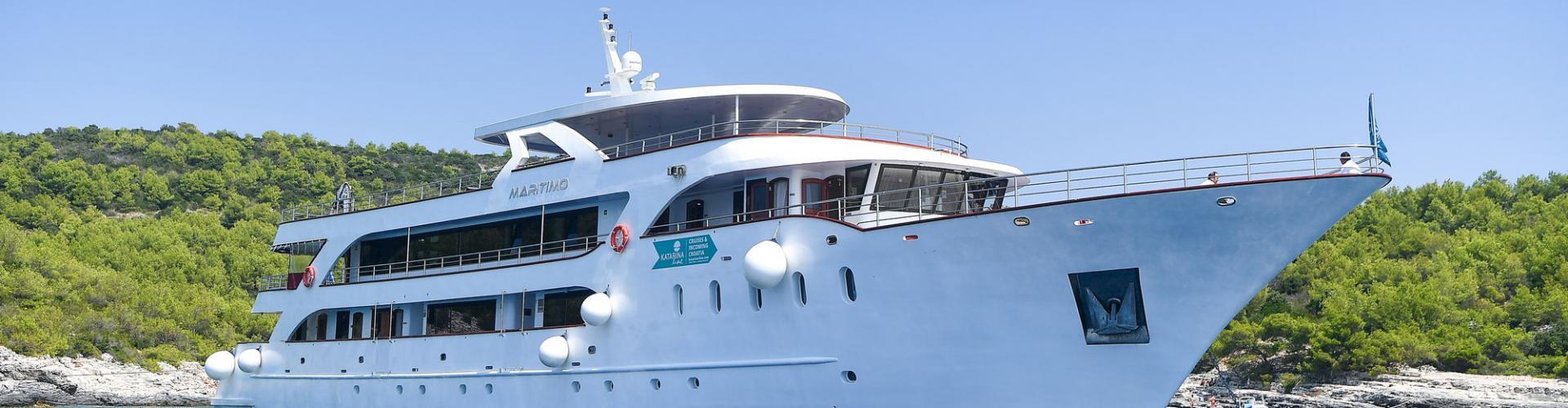 Deluxe Superior nave da crociera MV Maritimo- yacht a motore