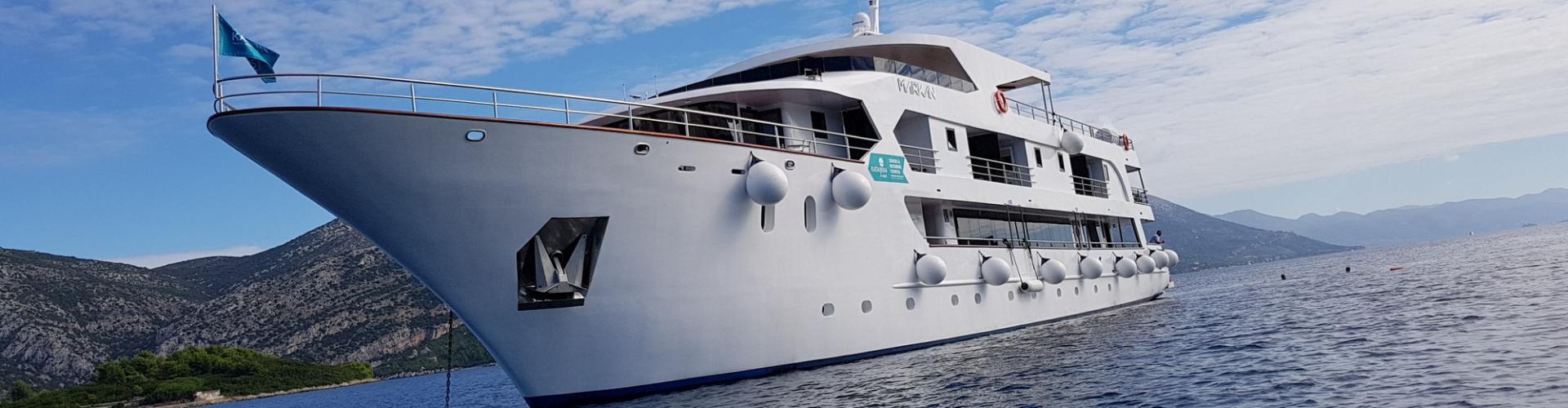 Deluxe Superior nave da crociera MV Markan- yacht a motore