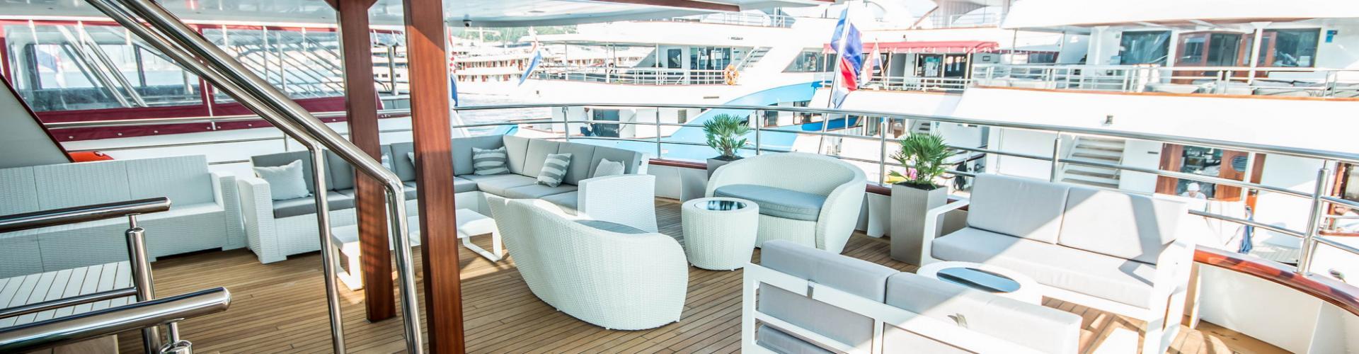 barca a motore Deluxe Superior nave da crociera MV Markan