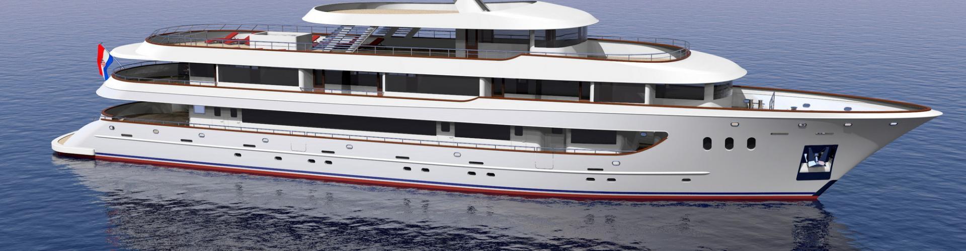 Deluxe Superior nave da crociera MV Rhapsody- yacht a motore