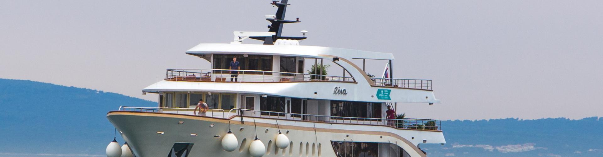 Deluxe Superior nave da crociera MV Riva- yacht a motore