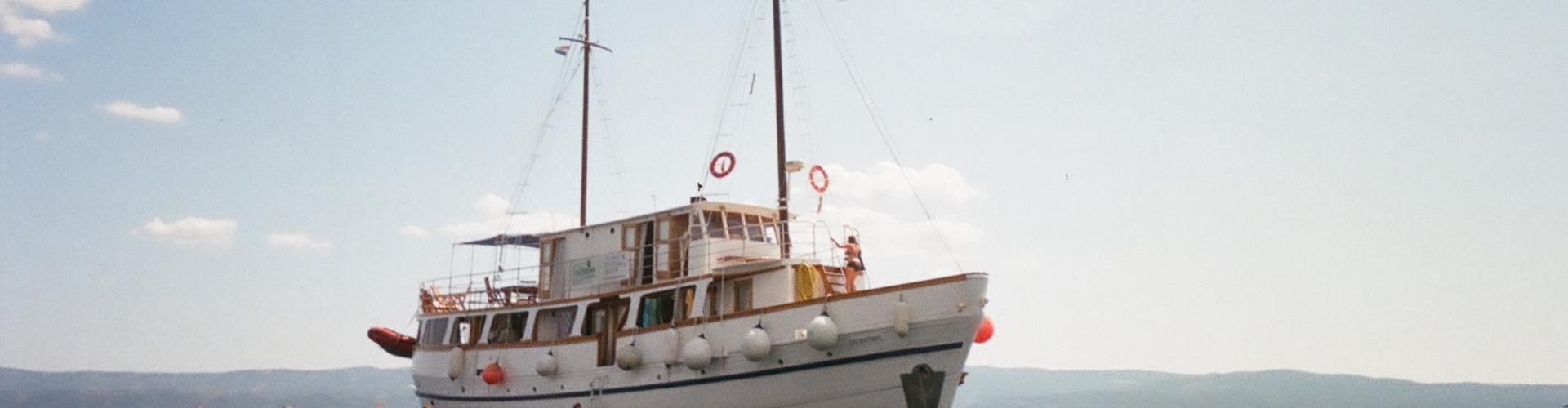 1957. Nave da crociera tradizionale Dalmatinac