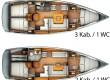 Sun Odyssey 409  affitto barca a vela Spagna