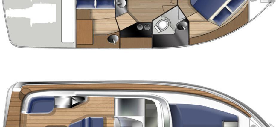barca a motore Elan 30 Power
