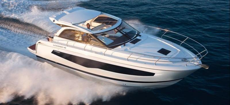 barca a motore Leader 40