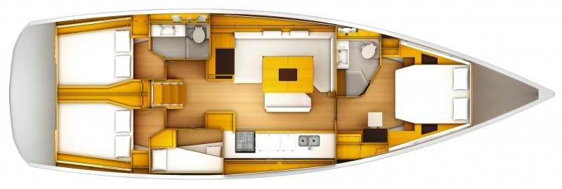barca a vela Sun Odyssey 509