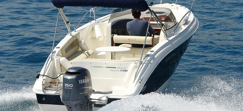 barca a motore Eolo 650