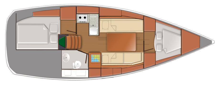 barca a vela Delphia 31