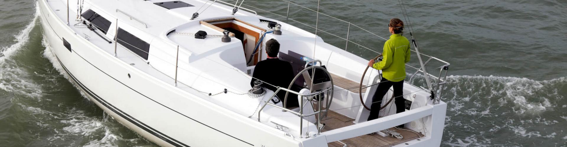 barca a vela Hanse 375