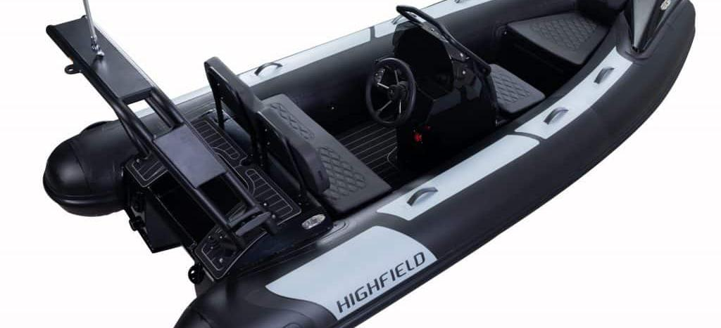 barca a motore Highfield OM 390