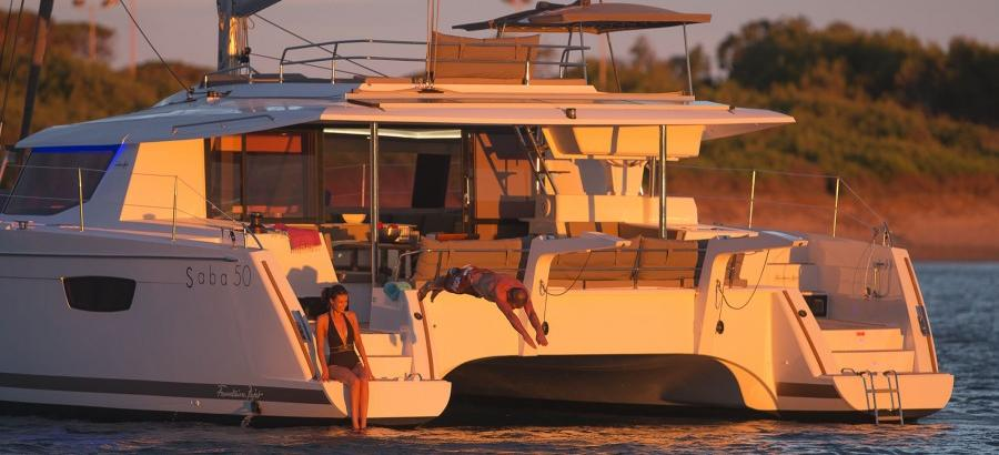 2019. Fountaine Pajot Saba 50