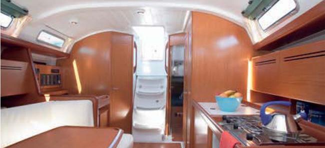 barca a vela Cyclades 39.3