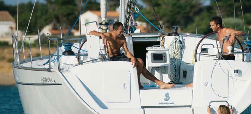 barca a vela Cyclades 50.5