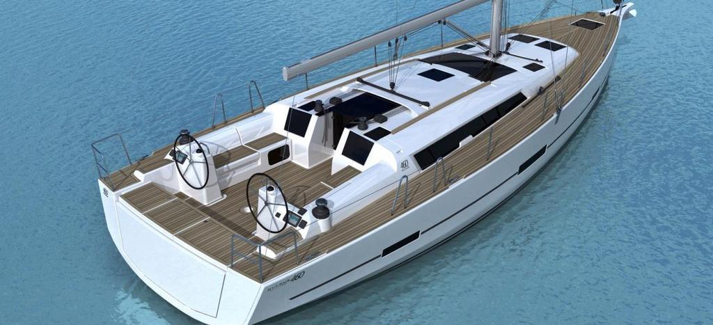 barca a vela Dufour 460 GL