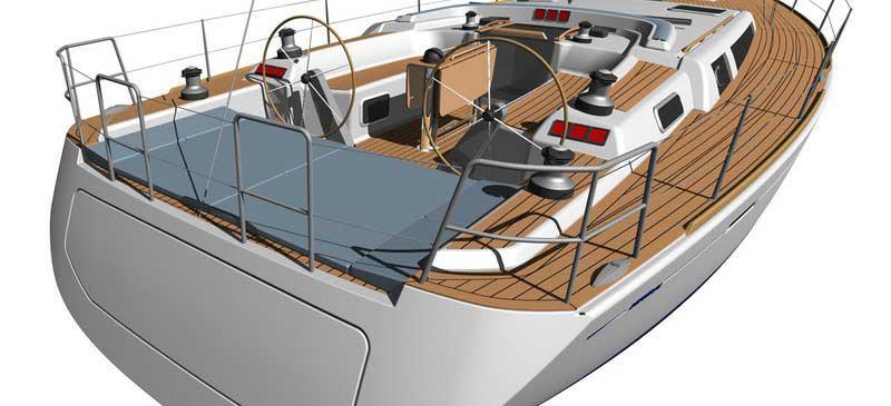 barca a vela Dufour 525