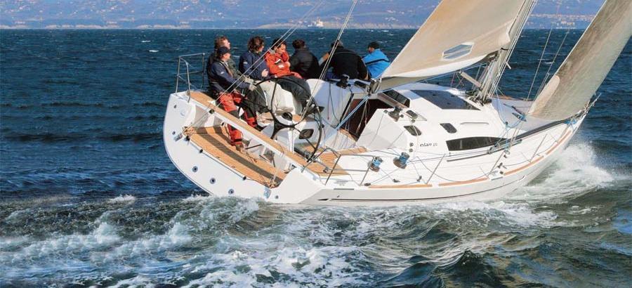 barca a vela Elan 410