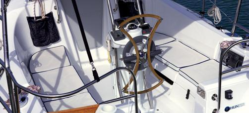 barca a vela Hunter 31