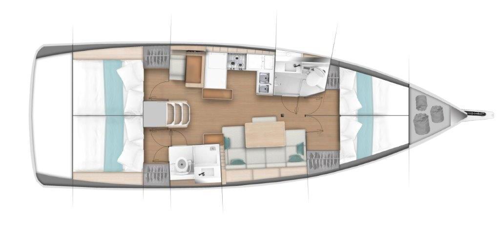 barca a vela Sun Odyssey 440