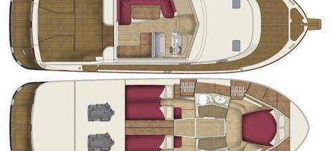barca a motore Adriana 44