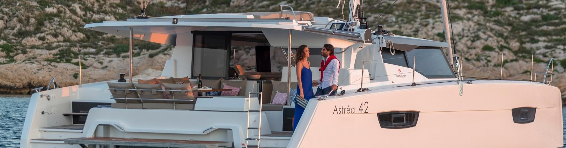 catamarano Fountaine Pajot Astrea 42