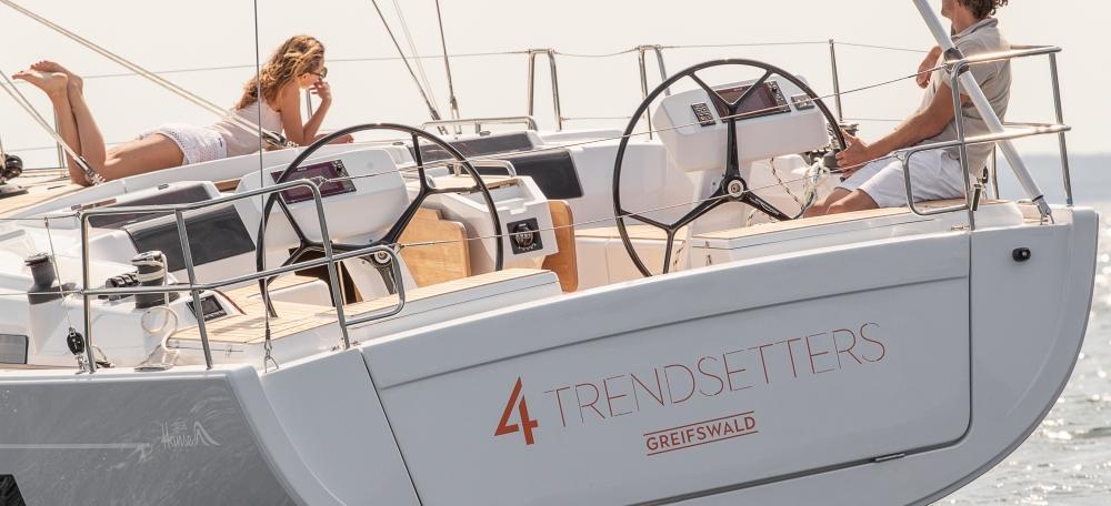 barca a vela Hanse 458