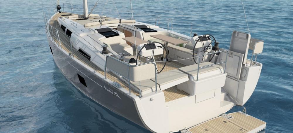 barca a vela Hanse 508