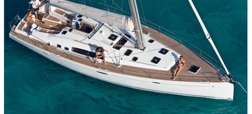barca a vela Oceanis 54