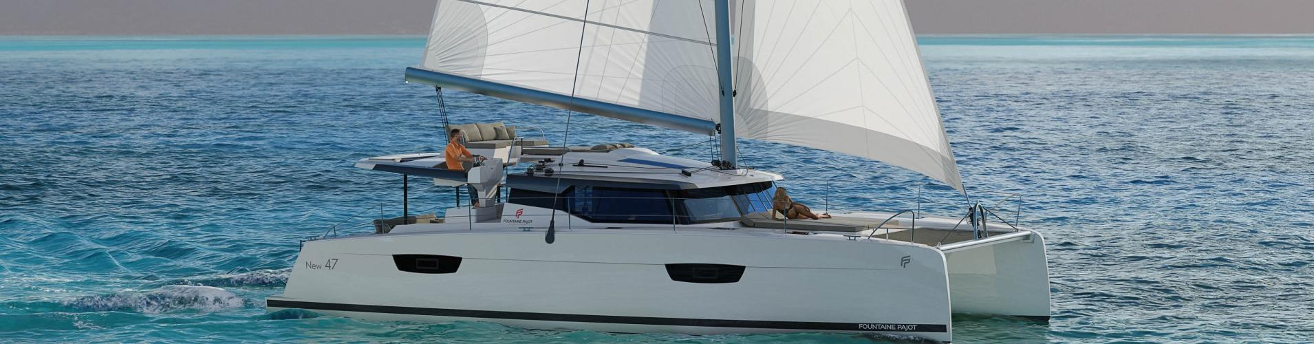 2020. Fountaine Pajot Saona 47