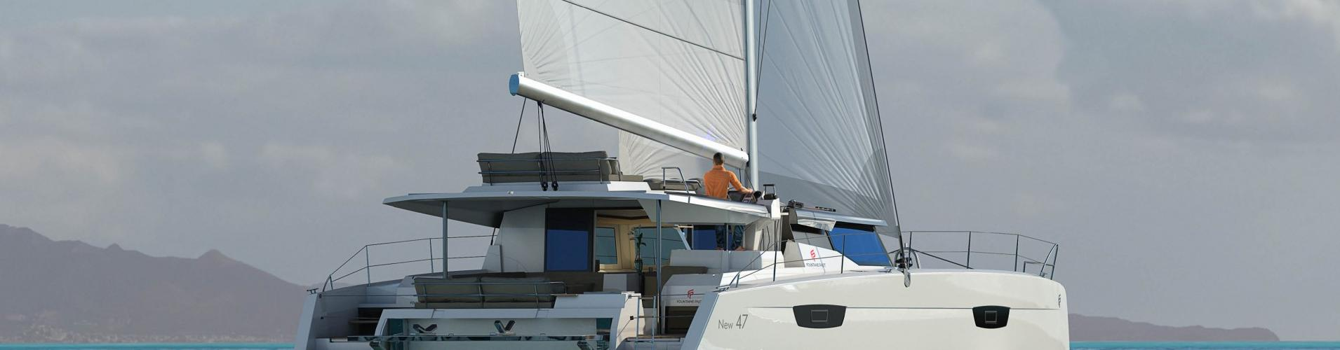 catamarano Fountaine Pajot Saona 47