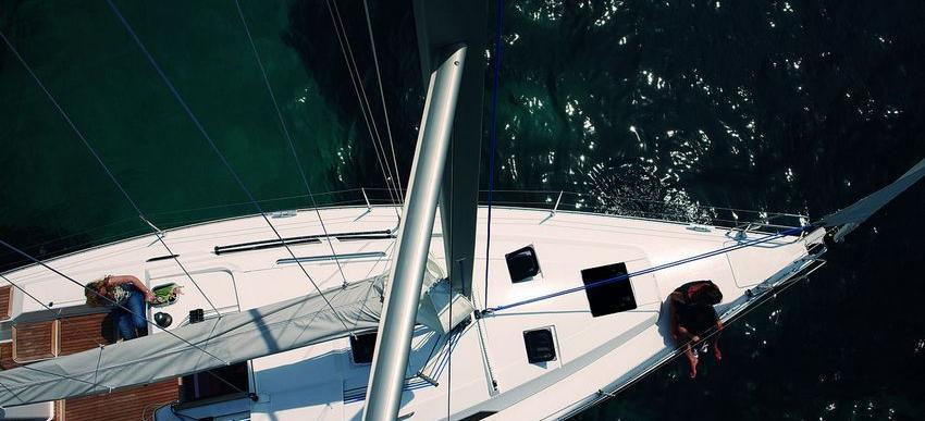 barca a vela Hanse 350