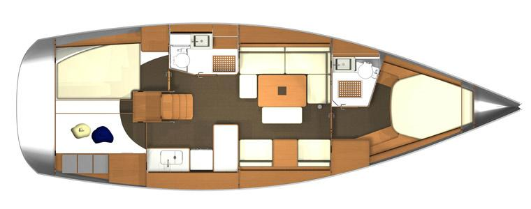 barca a vela Dufour 405
