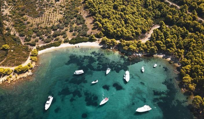 Un paradiso tra i pini: venite a visitare il lato est di Sithonia, Calcidica