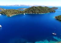 Meleda, porto boschivo dell'Adriatico