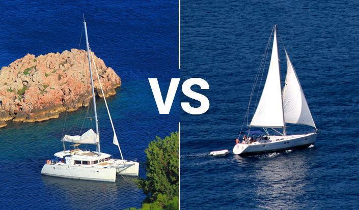 Cosa noleggiare quest'estate – Monoscafo o catamarano?
