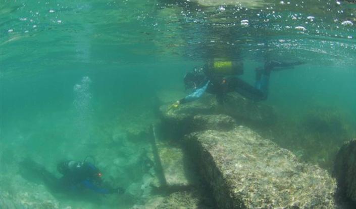 Porto di Silbio - tracce dei tempi antichi