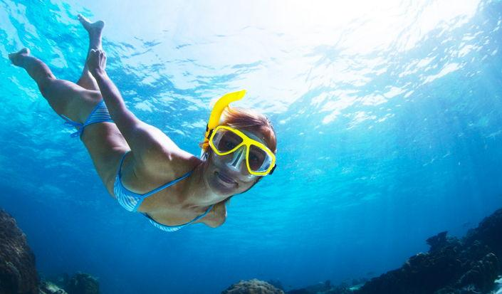 Una sbirciatina sott'acqua