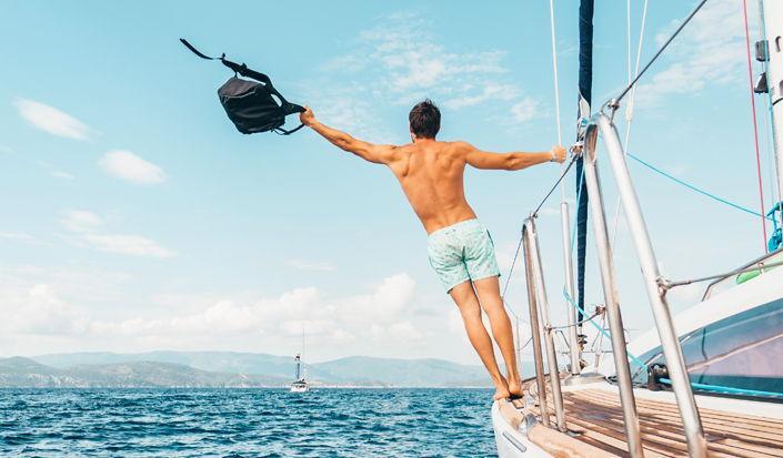 Come lavorare dalla vostra barca a noleggio questa estate