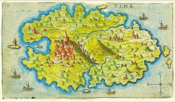 """I """"Tamata"""" di Tino: l'isola greca dei miracoli"""