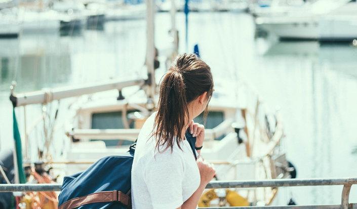 La donna e il mare