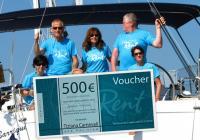 Il vincitore del concorso nel 2014. ha vinto un voucher di 500 euro!