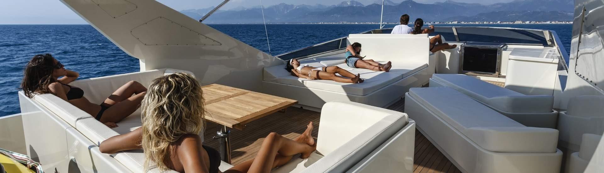 Italy Motor Yacht charter