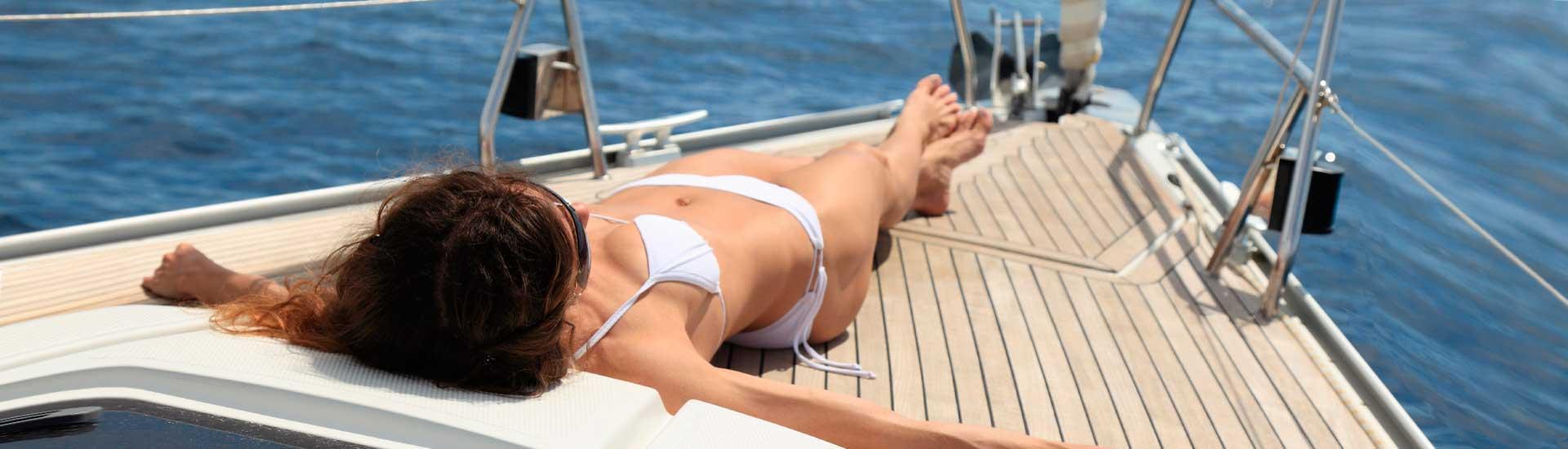 Rilassatevi e godetevi la vela