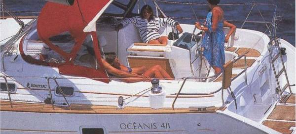 barca a vela Oceanis 411