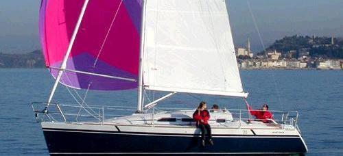 barca a vela Elan 31