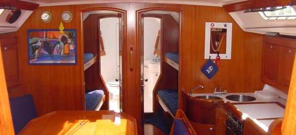 barca a vela Elan 431