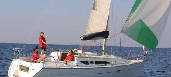 barca a vela Sun Odyssey 32