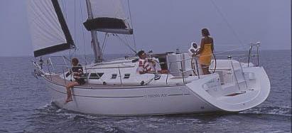 barca a vela Sun Odyssey 37
